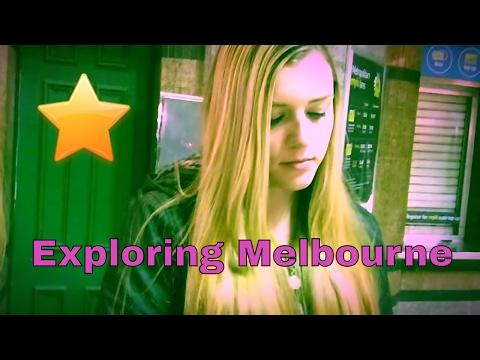 Explore Melbourne at night - The most liveable city ⭐️ Oprah Brylie