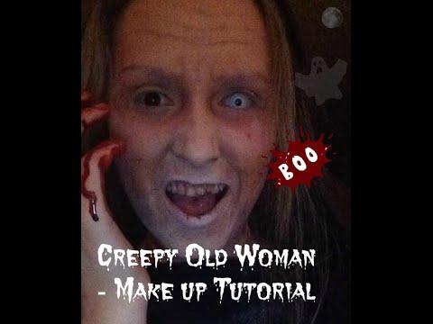 Creepy Old Woman - Halloween Make up Tutorial