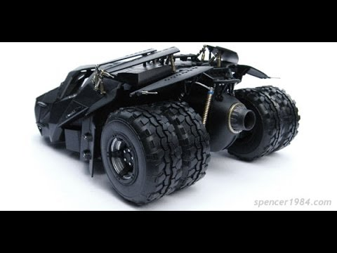 1/25 Scale Dark Knight Trilogy Batmobile (Tumbler) - Finished Model