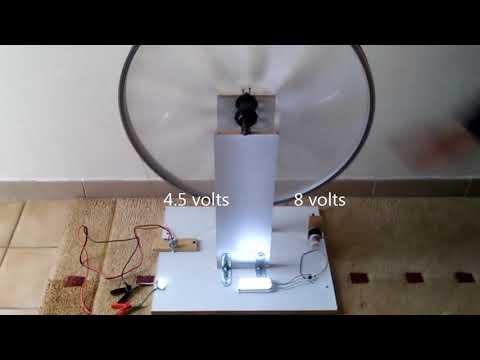 Bicycle wheel double action generator