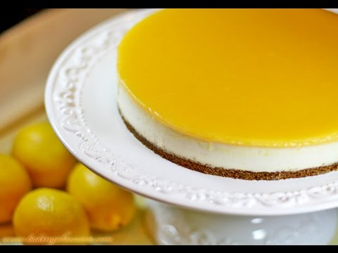 Goat Cheesecake With Fresh Lemon Curd And   EASY TO LEARN   QUICK RECIPES