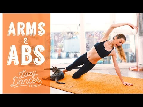 Ballet Arms and Abs - 10 min (ish) Floor Workout
