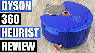 Dyson 360 Heurist -  Dyson Is Thinking Outside the Box! - Robot Vacuum Review