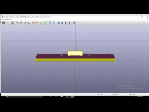 Two Layer PCB Design using KiCad