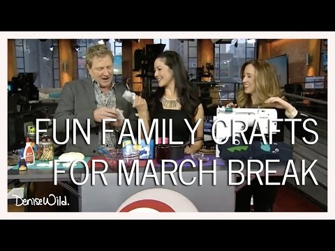 Fun Craft Projects For March Break (CP24 Breakfast)