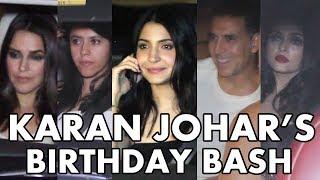 Karan Johar Birthday Party | Aishwarya Rai, Akshay Kumar, Anushka Sharma