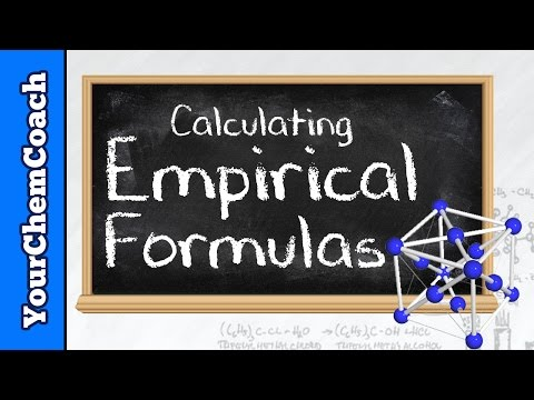 How to Calculate an Empirical Formula - Mr. Causey's Chemistry