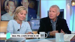 Patrick Poivre d'Arvor et Claire Chazal  - C L'hebdo - 26/11/2016
