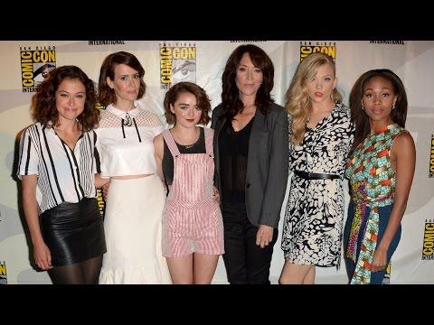 EW: Women Who Kick Ass Panel | Comic Con 2014 [Full Panel]