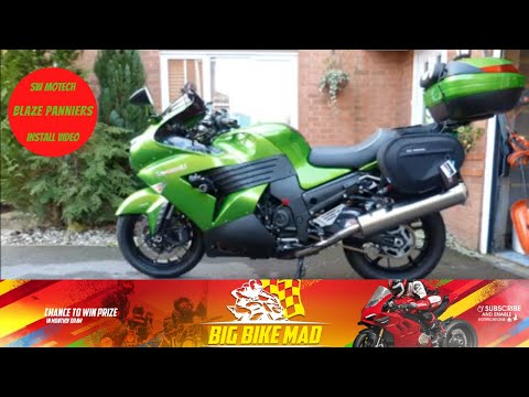 Blaze Motorcycle Panniers Saddlebags Bags-Connection SW Motech  - Fitting