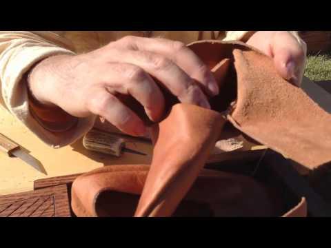 Viking hand made shoes