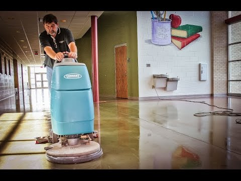Maintaining Polished Concrete Floors