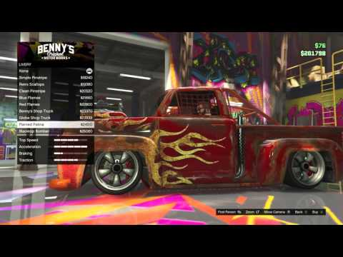 New GTA 5 Truck Upgrades In Bennys