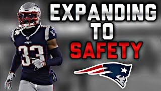Patriots CB JoeJuan Williams Practicing at Safety