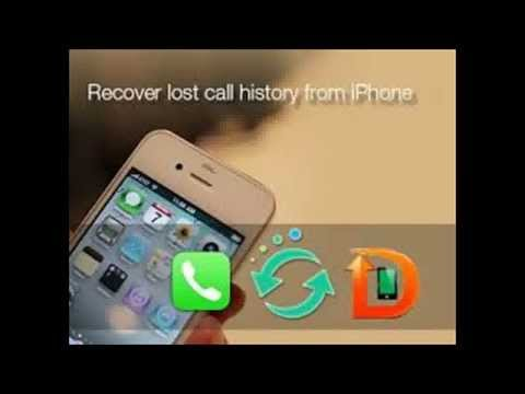How to find and Restore Deleted Call history on iPhone 5s!