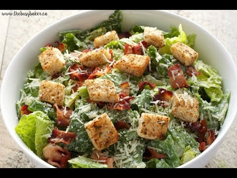Greek Yogurt Caesar Salad Recipe