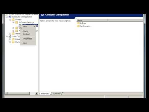 Windows Server 2008: update software through group policy