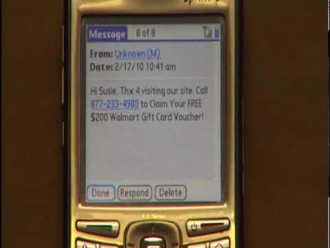 Walmart Gift Card Text Scam