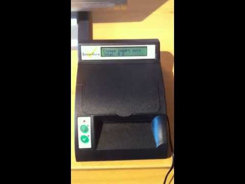 Secureuro counterfeit machine approves fake IOActive bank note