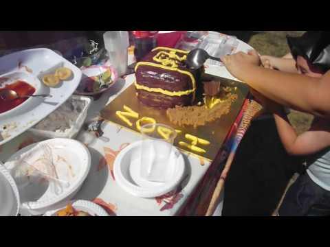 treasure chest cake for noah :)