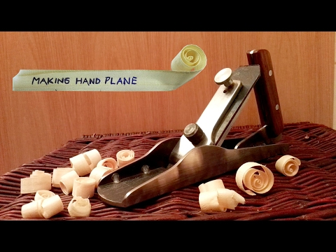 Make a solid steel hand plane