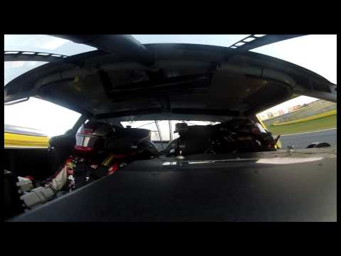 Ingrid Vandebosch Rides Along with Jeff Gordon in a 2-Seater NASCAR Race Car - Ride-Along