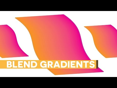 Crazy Gradients with Blend Tool - Adobe Illustrator