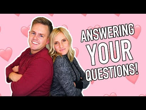 Relationship And Marriage Q & A With Ellie And Jared