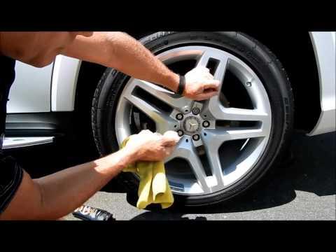 Car Wheel Polishing: Mercedes OE wheel polishing