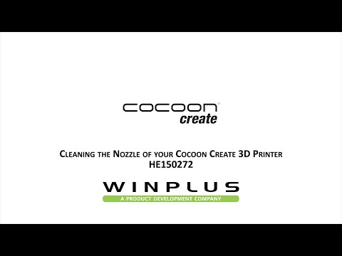 Cocoon Create 3D Printer - Cleaning the Nozzle