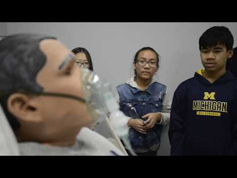 Healthcare Pipeline Project at KCC helps kids think about health careers