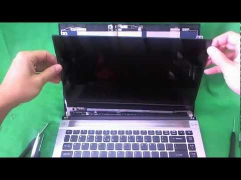 Acer Aspire Timeline 4830t Laptop Screen Replacement Procedure