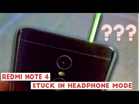 Xiaomi Redmi Note 4 Headset Issue Resolved :-( headset icon ON notification and Mic Problem on Call
