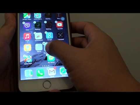 iPhone 6 Plus: How to Create a Home Screen Folder