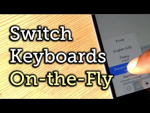 Switch Between Your Favorite iOS 8 Keyboards with Ease - iPad, iPhone [How-To]