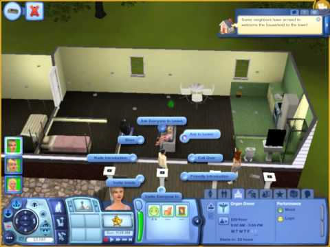 Let's Play Sims 3:Ambitions(Get a Job and Do it!!)