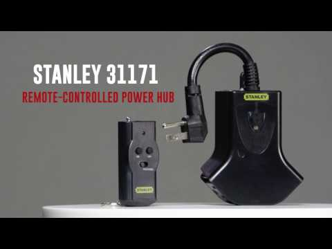 Remote Control Power Hub | Stanley 31171 Product Video