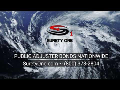 Public Adjuster Bond