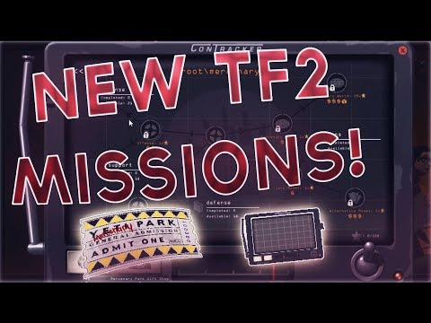 TF2: ALL NEW MISSIONS FROM THE NEW JUNGLE INFERNO CONTRACKTOR!