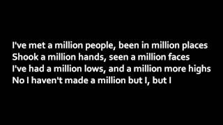 Jake Miller - A Million Lives (Lyrics)