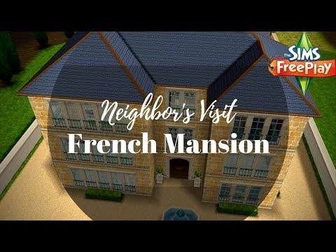 French Mansion By Silvana Martinez | Sims FreePlay