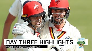Cooper, Carey cash in at Junction Oval run-fest | Marsh Sheffield Shield 2019-20