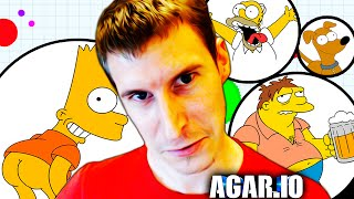 LOS SIMPSON DOMINAN AGAR.IO! | PokeR988