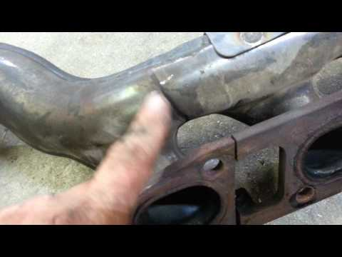 Nissan Armada/Titan long tube header install - part 1