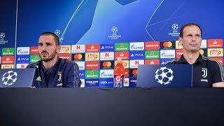 Juventus vs Man Utd: Matchday -1   Training & Press Conference