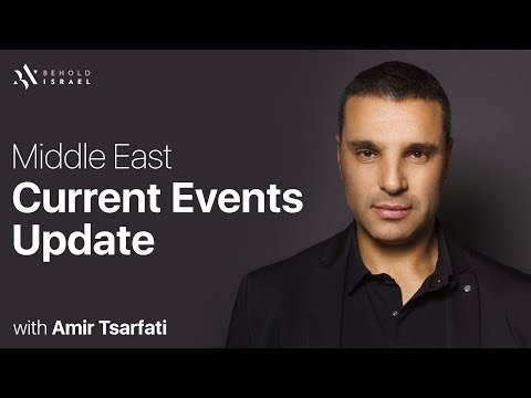 Middle East Current Events Update, April 21, 2018.