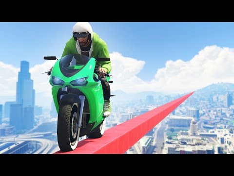 IMPOSSIBLE GTA BOWLING OBSTACLE COURSE! (GTA 5 Races)