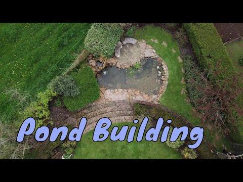 Building a garden pond - How to build a garden pond
