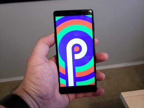 Android P Beta on the Sony Xperia XZ 2