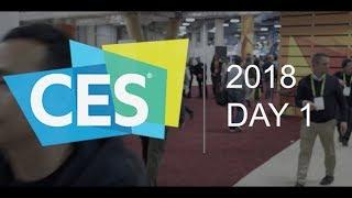 VIVE at CES 2018 - Day 1 Recap